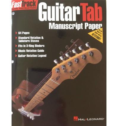 Guitar Tab Manuscript